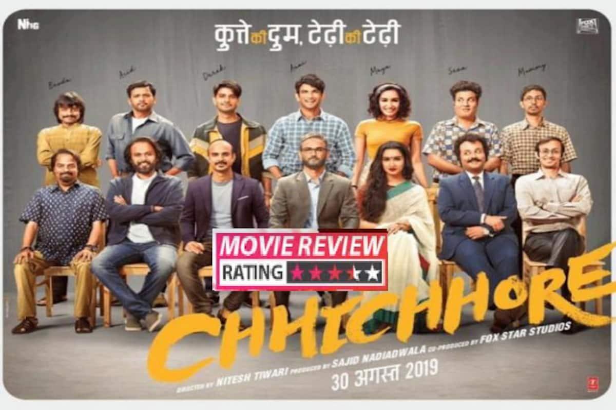 Chhichhore Movie Review Nitesh Tiwari Is The Real Hero