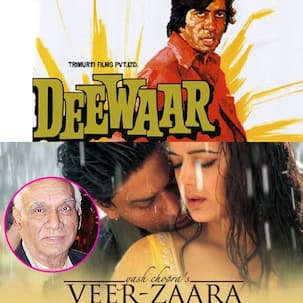 Filmy Friday: From Deewar to Veer Zaara - 5 iconic films of Yash Chopra that prove what a craftsman he was!
