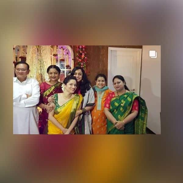 जब अपनी ऑनसक्रीन मां और भाभी से मिलीं Ankita Lokhande