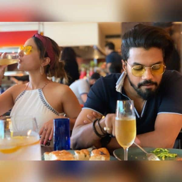 हिना खान ने बॉयफ्रेंड संग स्पेंड किया क्वालिटी टाइम