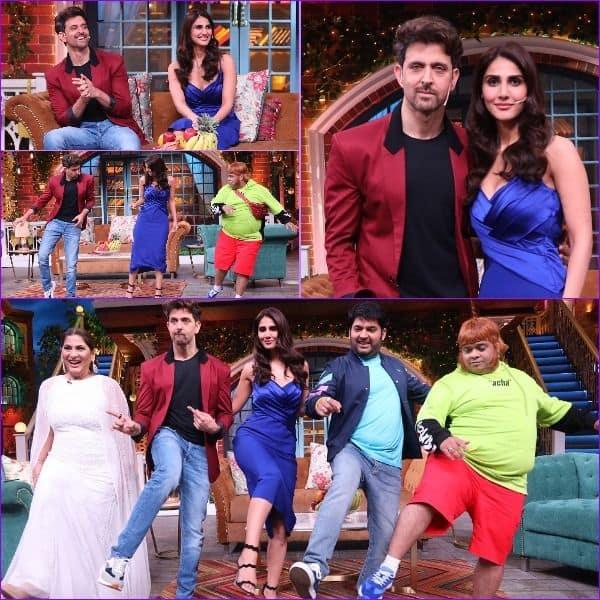 Hrithik और Vaani  पहुंचे The Kapil Sharma Show में