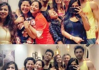 Hina Khan, Sahil Anand attend Parth Samthaan's housewarming party, but Erica Fernandes is missing