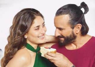 Kareena Kapoor Khan and Saif Ali Khan's average evenings involve food, wine and Taimur running around!