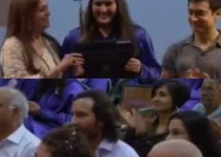 Viral Video: Saif Ali Khan and Amrita Singh cheer for daughter Sara Ali Khan during her graduation ceremony