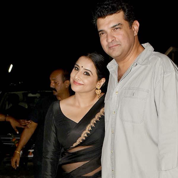 पति Sidharth Roy Kapur संग पहुंची Vidya Balan