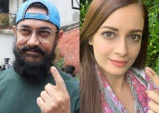 Assembly Elections 2019: Aamir Khan, Dia Mirza and other celebs step out to cast their vote