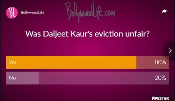 Dalljiet Kaur elimination result