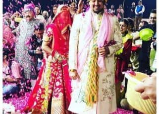 Mohena Kumari Singh is a stunning Rajput bride as she weds Suyesh Rawat in Haridwar - view pics!