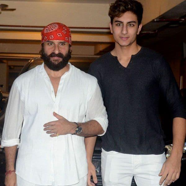 Choose films carefully,' Saif Ali Khan drops a HINT about son Ibrahim Ali  Khan's Bollywood debut