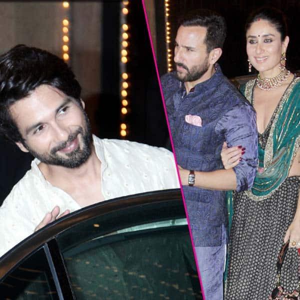 सालों बाद एक साथ इकट्ठे हुए Shahid Kapoor और Kareena Kapoor Khan