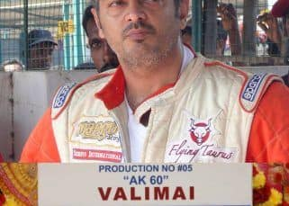 #Valimai: Thala Ajith's fans take Twitter by a storm as the makers announce the title of #Thala60