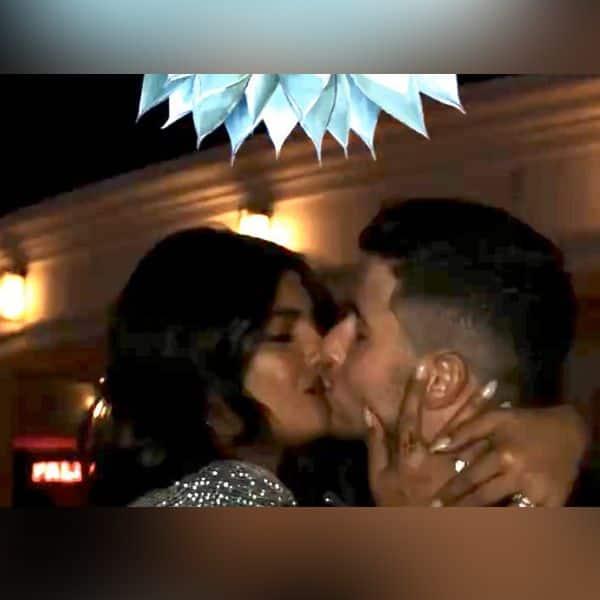 Priyanka Chopra was seen kissing Nick Jonas