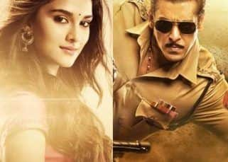 Dabangg 3 motion poster: Salman Khan introduces Saiee Manjrekar as Khushi in Chulbul Pandey style