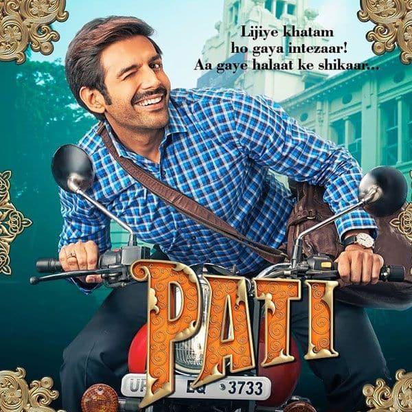 Pati Patni Aur Woh poster: Kartik Aaryan's happy-go-lucky mood promises to take us on a laugh riot