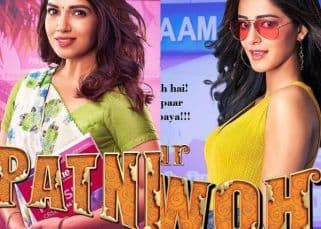 Pati Patni Aur Woh posters: After Kartik Aaryan, Bhumi Pednekar and Ananya Panday reveal their look from the film
