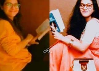 #24YearsOfDDLJ: Kajol recreates her iconic pose but we're missing Shah Rukh Khan by her side!