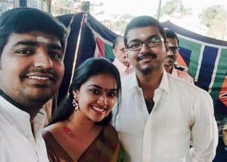 Throwback Thursday: When birthday girl Keerthy Suresh had a fangirl moment with Thalapathy Vijay