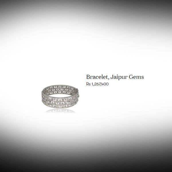Malaika Arora diamond bracelet