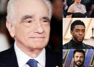 Scarlett Johansson, Chris Evans and Chadwick Boseman address Martin Scorsese's 'theme park experience' comments on the MCU