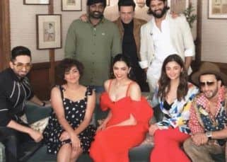 Ranveer, Deepika, Alia, Ayushmann, Vijay Deverakonda and others come together under one roof and we're expecting fireworks