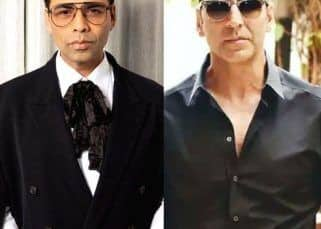 Karan Johar complains that Akshay Kumar has not ever given him any 'good news', and you'll never guess the reason