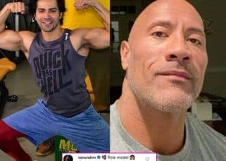 Varun Dhawan calls Dwayne The Rock Johnson a 'role model' and we so agree