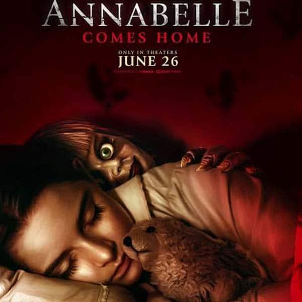 सांड की आंख से आगे है Annabelle Comes Home