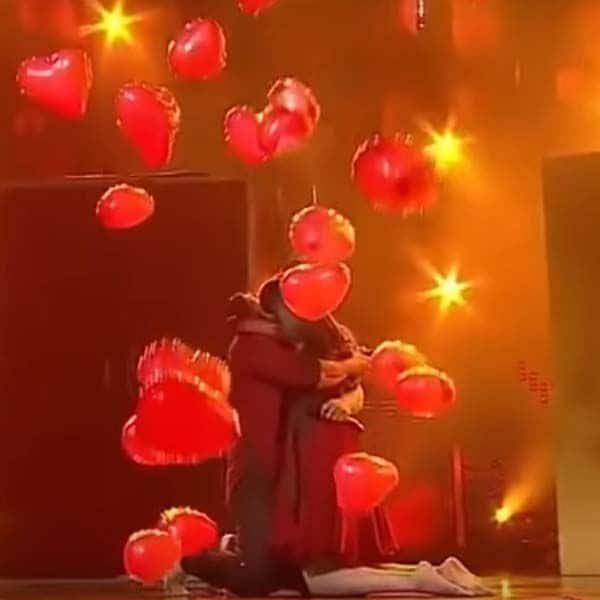 दिल वाले गुब्बारों की हुई थी बरसात