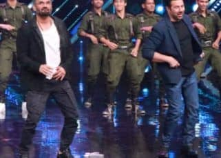 Dance Plus 5: Sunny Deol and Suniel Shetty visit Remo D'souza's dance show and are taken back to Border days