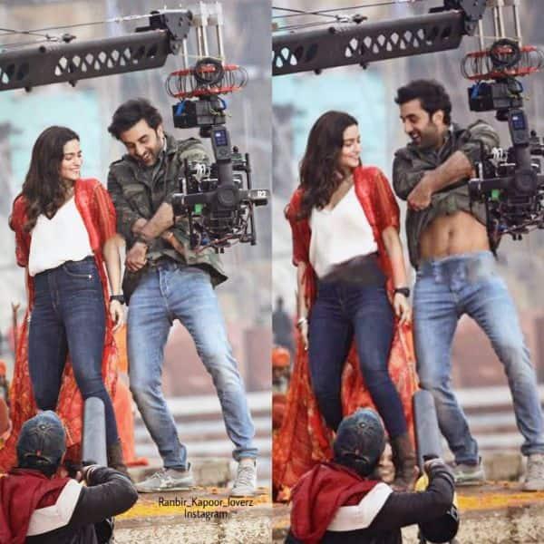 Brahmastra: Ranbir Kapoor and Alia Bhatt's dance sequence video gets LEAKED; goes viral on the internet