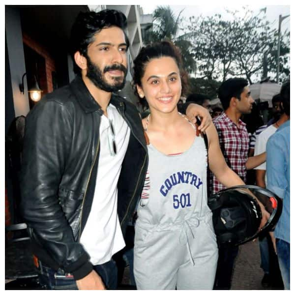 Taapsee Pannu reveals she's exchanged messages with Harshvardhan Kapoor after her comments on his career