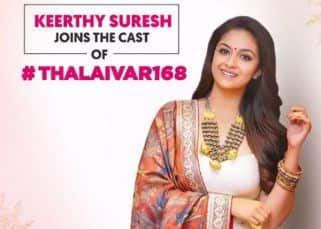 Thalaivar 168: Keerthy Suresh joins Rajinikanth starrer; says, 'Sharing screen space with him will be my most cherished memory'
