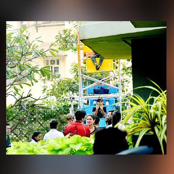 बर्थडे पार्टी में Kareena Kapoor khan ने किया मेहमानों का स्वागत