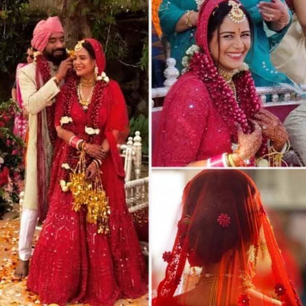 वायरल हुई Mona Singh की शादी की तस्वीरें