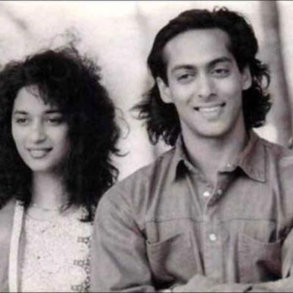 माधुरी दीक्षित संग सलमान खान की ये पुरानी फोटो खींच लेगी ध्यान