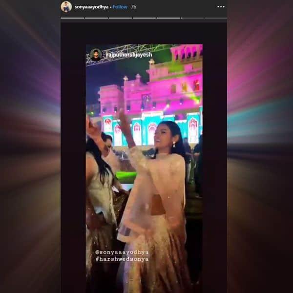 खुशी के मारे थिरकती दिखी Sonyaa Ayodhya