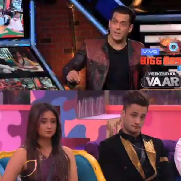 Bigg Boss 13 Salman Khan Thrashes Asim Riaz Asks Rashami