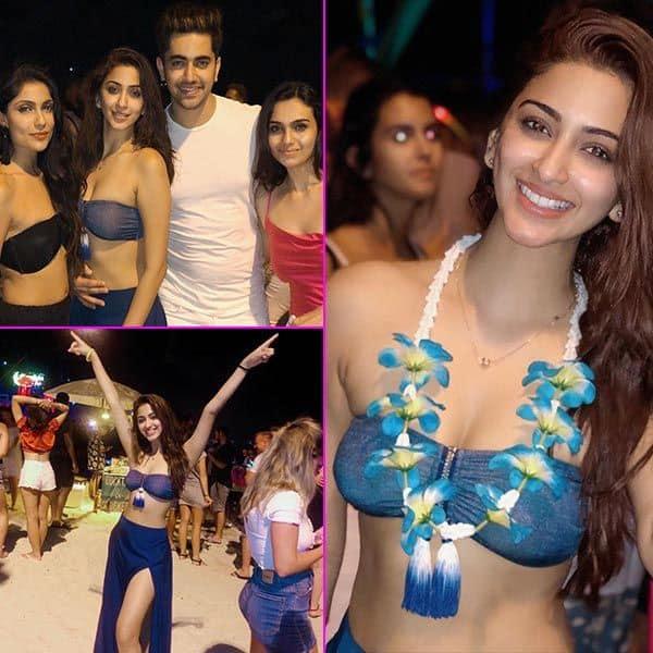 Eshanya Maheshwari ने शेयर की पार्टी पिक्स