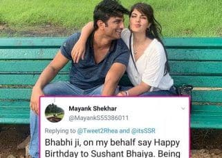 Fans term Rhea Chakraborty as 'bhabhi', after she wishes rumoured beau, Sushant Singh Rajput on his birthday