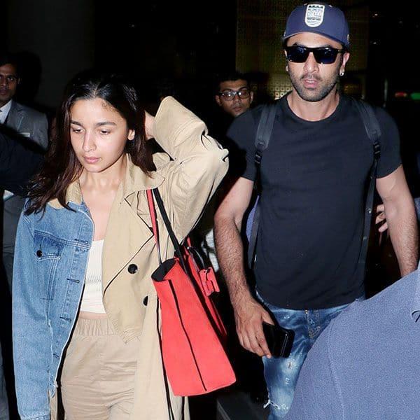 Alia Bhatt के पीछे पीछे घूमते दिखे Ranbir Kapoor