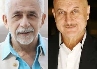 Real life A Wednesday: Naseeruddin Shah calls Anupam Kher a clown, says he can't be taken seriously
