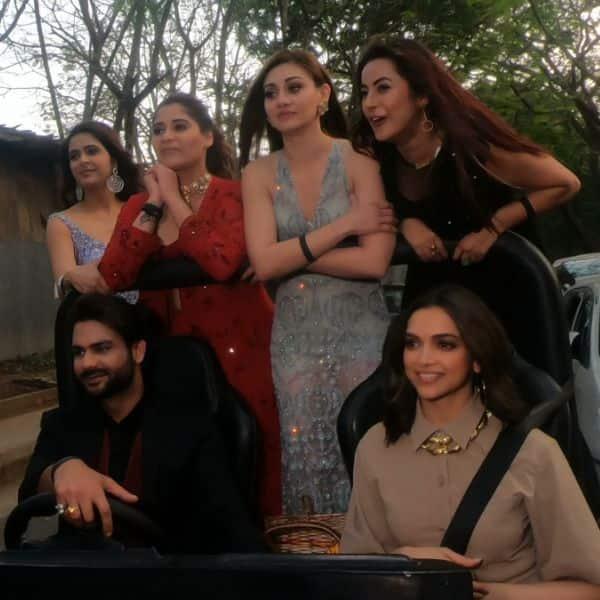 Bigg Boss 13: Deepika Padukone takes winners Vishal Aditya Singh, Madhurima Tuli and Shehnaaz Gill out for a joyride – view pics