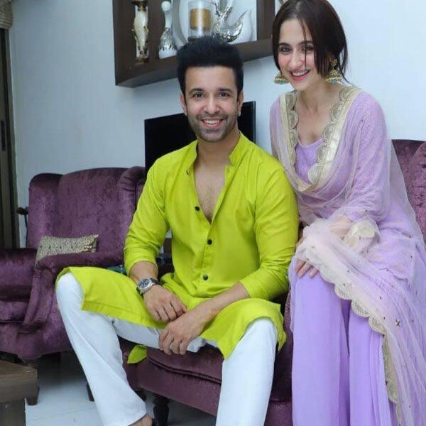 एक-दूसरे के साथ खुश थे आमिर और संजीदा
