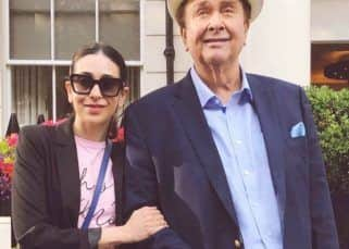 Karisma Kapoor posts pics of dad Randhir Kapoor's 73rd birthday bash