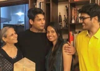Bigg Boss 13: Sidharth Shukla's face beams with happiness as he spends time with mother and cousins — view pics