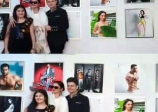 'Yeh danger zone hai,' Rekha's hilarious reaction when asked to pose beside Amitabh Bachchan's photo is unmissable - watch video