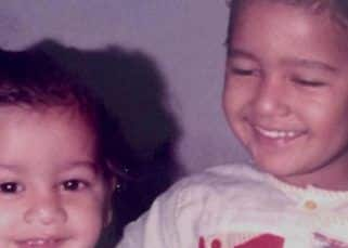 Throwback Thursday: Can you guess these siblings from THIS childhood picture?