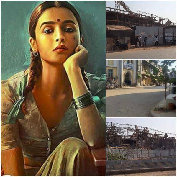 'Gangubai Kathiawadi' के सेट से वायरल हुई तस्वीरें