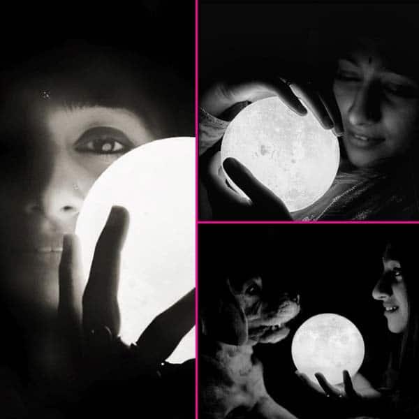 अंधेरे के बीच करवाया फोटोशूट