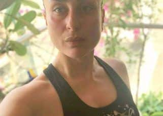 Coronavirus pandemic: Kareena Kapoor Khan flaunts her 'workout pout' after her quarantine exercise session